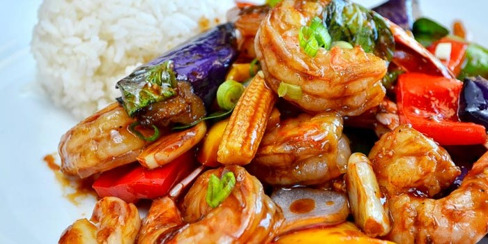 Shrimp and Veggies