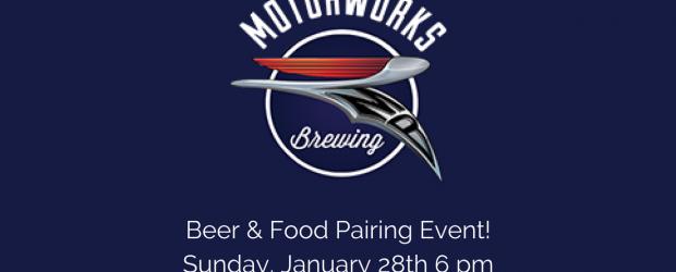 Motorworks Brewing Beer & Food Pairing Event