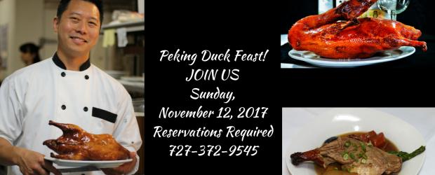 Peking Duck FEAST!